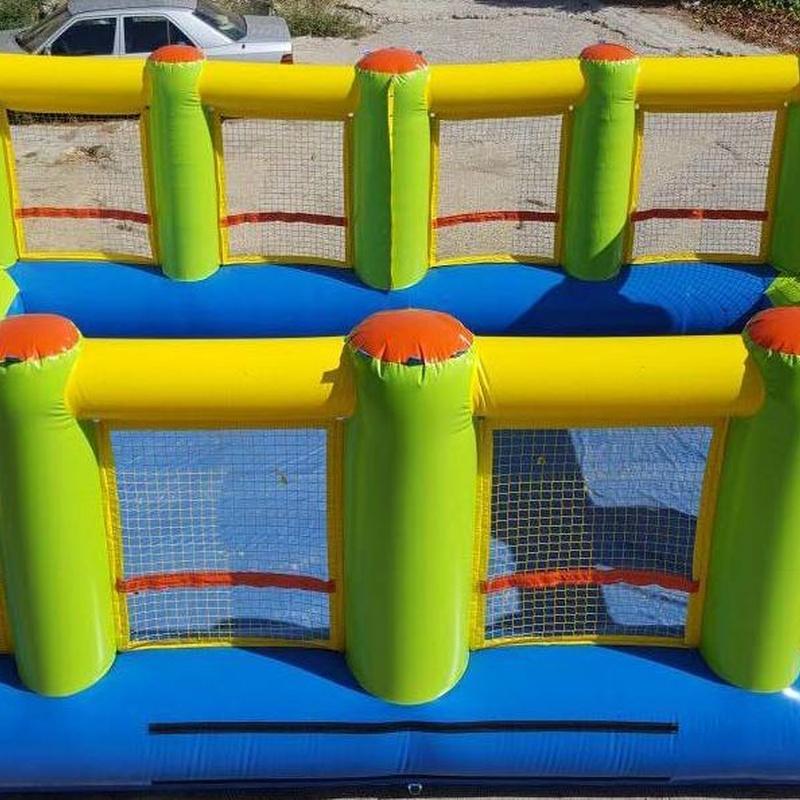 Hinchable campo de fútbol: Catálogo de Hinchables Happy Jump