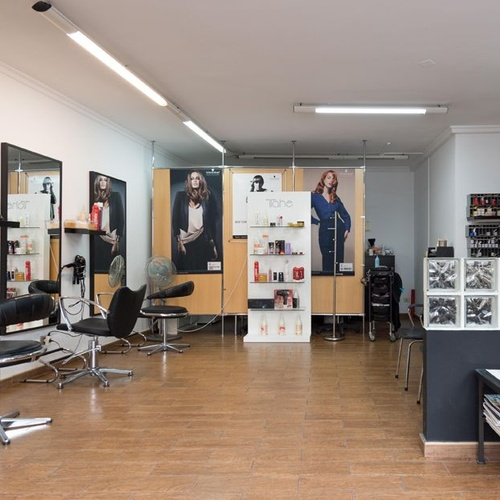 Interior de nuestra peluquería en Las Palmas de Gran Canaria