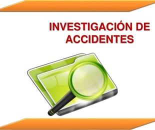Investigación de accidentes del trabajo a través del método del árbol de causas