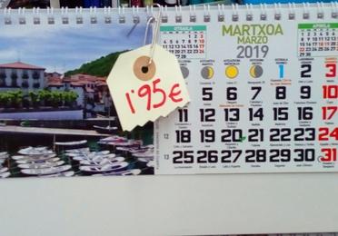 Agendas y calendarios 2019