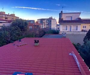 Restauración de tejado en Girona