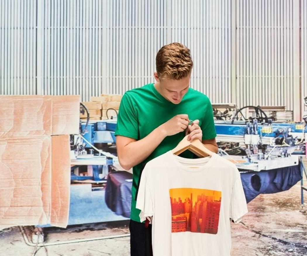 Impresión de camisetas por el método de la sublimación