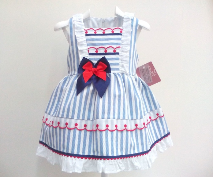 Vestido niña marinero de Yoedu.