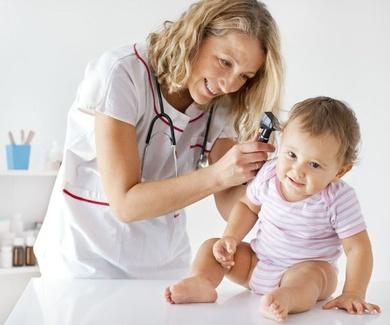 Prevencion de la otitis serosa en niños en Tenerife