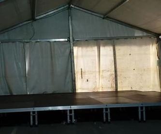 Carpas: Nuestros servicios de Jukeval Eventos