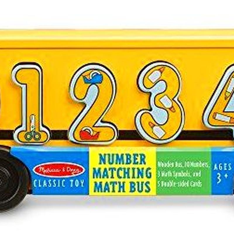 Autobús de los números. Melissa&Doug