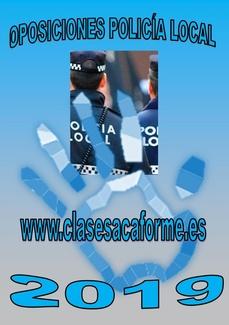 60 NUEVAS PLAZAS DE POLICÍA LOCAL