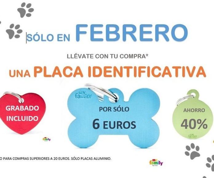 Oferta placas identificativas para mascotas