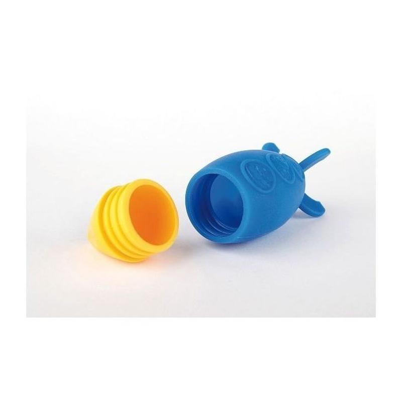 Juguete Baño Silicona Marcus & Marcus Cohete Azul: Productos de Mister Baby
