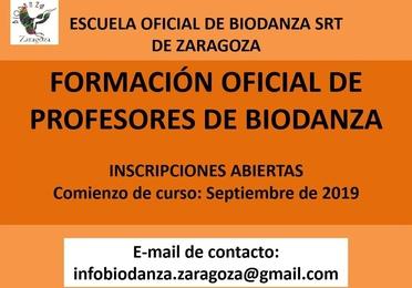 Nuevo ciclo de formación de facilitadores de Biodanza. Escuela Zaragoza