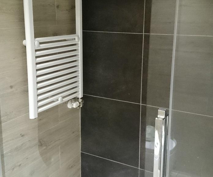 Radiador toallero hidraulico