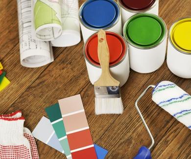Pintura intumescente e ignífuga y papeles pintados