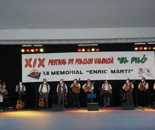 """Festival de Folclor Valencià """" EL PILÓ """" Burjassot"""