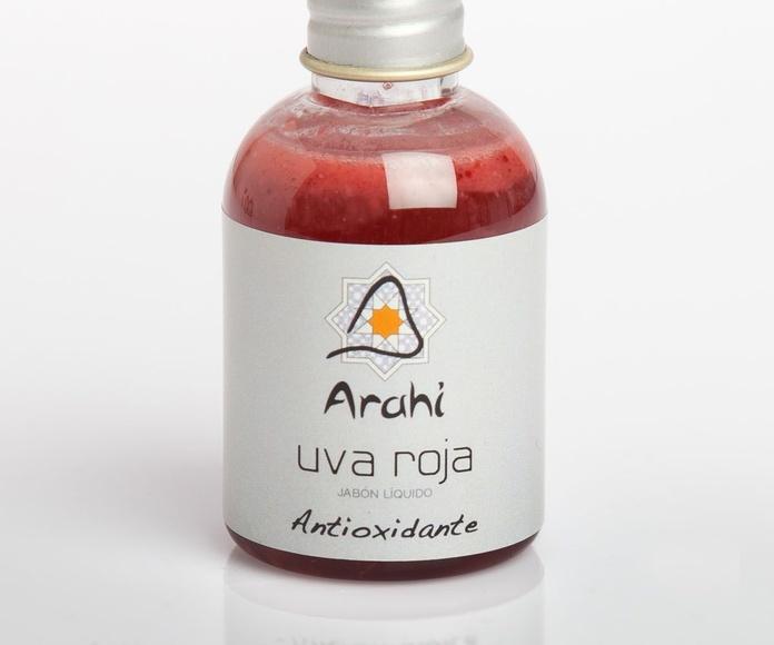 Minipets jabón líquido de aceite de oliva con uva roja: Productos de Arahí
