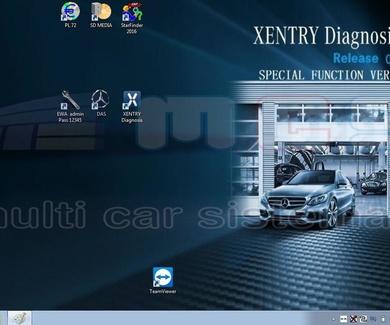 Software 2019 Star Diagnosis XENTRY DAS EWA EPC WIS Mercedes Benz Smart SD Connect C4