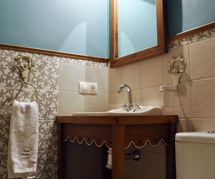 Cuarto de baño apartamento Bujaruelo.