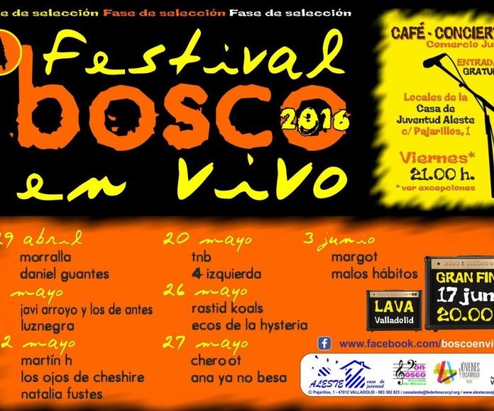 festival bosco en vivo
