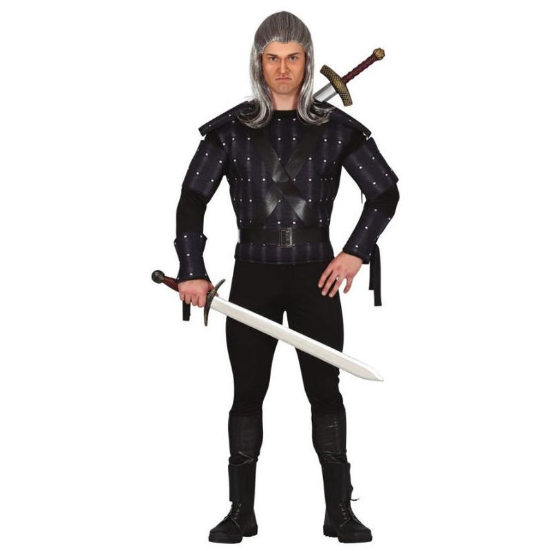 Disfraz hechicero guerrero