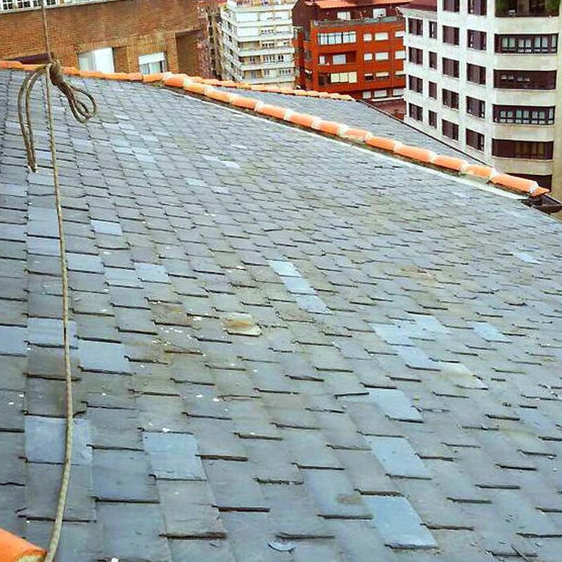 tejados de pizarra Asturias