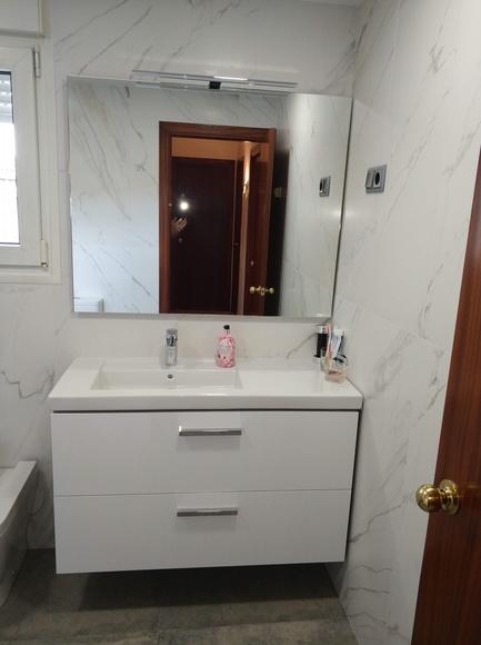 Cuarto de baño en Abrera