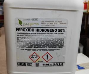 PEROXIDO DE HIDROGENO 50%