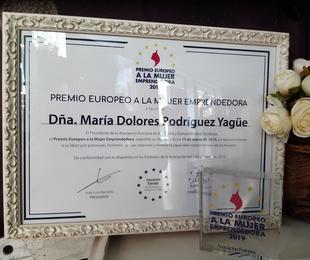 AEDEEC reconoce a Academia Vevey con el Premio Europeo a la Mujer Emprendedora