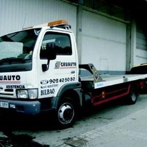 Asistencia en carretera en Bilbao