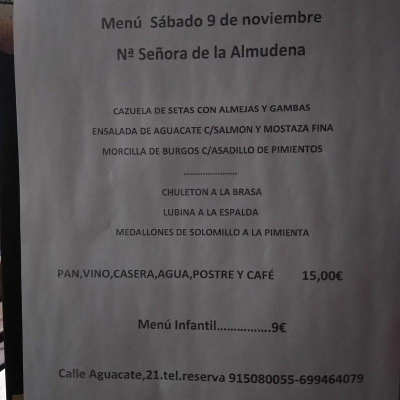 Menús de celebraciones: Carta y menús de Restaurante Gonzalo