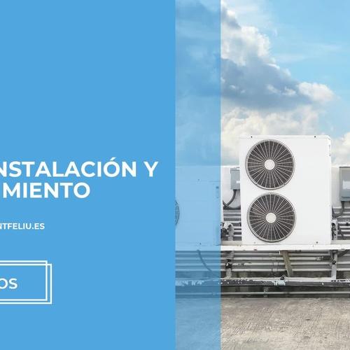 Instalación de aire acondicionado en Sant Feliu de Lobregat: Tecnoclima Sant Feliu