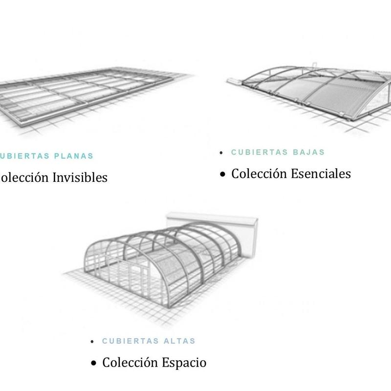 Cubiertas de piscinas: Productos y servicios de Lallana Pol