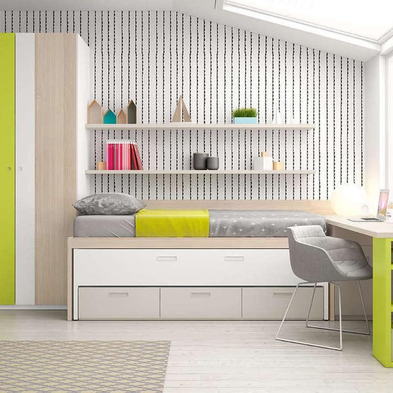 Dormitorios juveniles : Mobiliario y decoración de Casablanca Mobiliario y Decoración