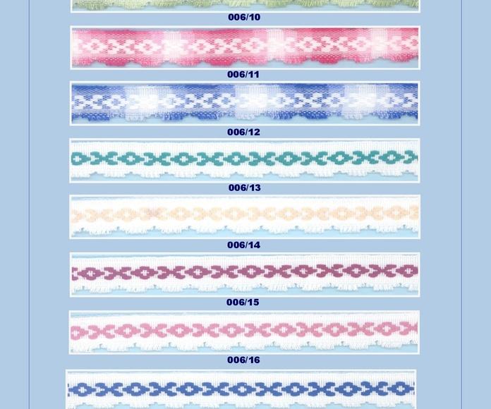 Cubrecosturas, Festones y Grecas: Catálogo de Punto & Costura
