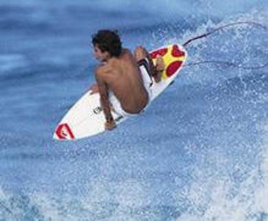 Entrenamiento para surf competición