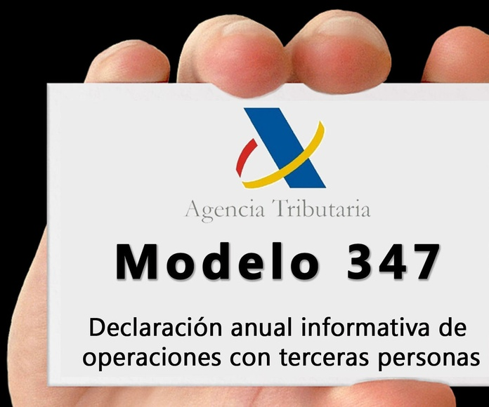 DECLARACIÓN ANUAL DE OPERACIONES CON TERCERAS PERSONAS 2017 (MODELO 347).