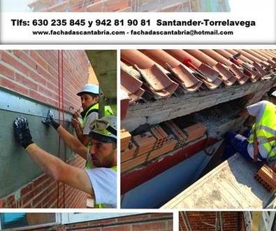 Trabajos de construcción y rehabilitación  de edificios Santander-Torrelavega-Cantabria