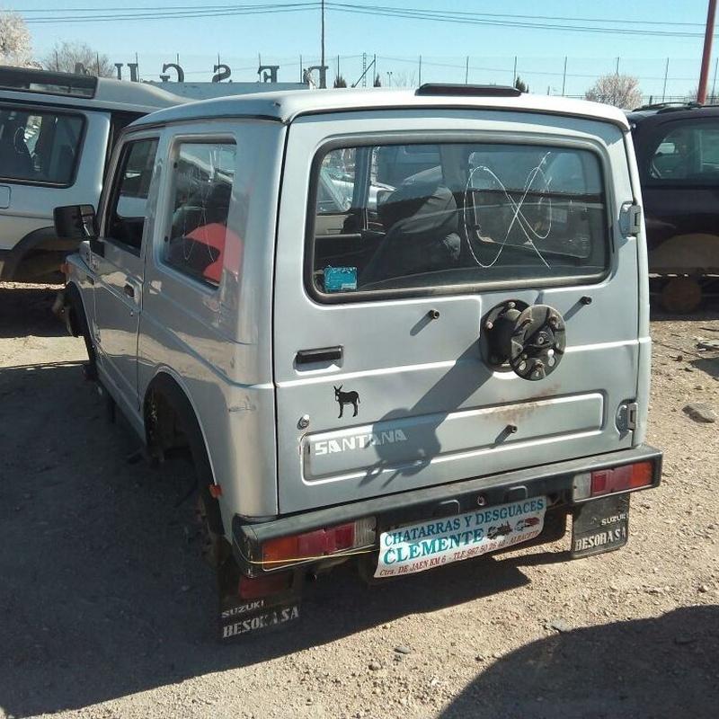 Suzuki Santana para desguace en chatarras Clemente de Albacete