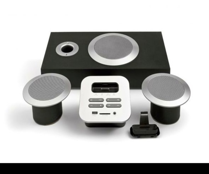 Sistema de audio y Subwoofer para IPHONE
