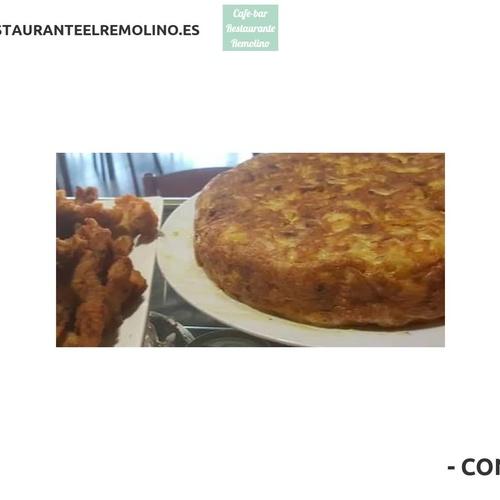 Restaurante con menú diario en Lorca | Café Bar Restaurante El Remolino