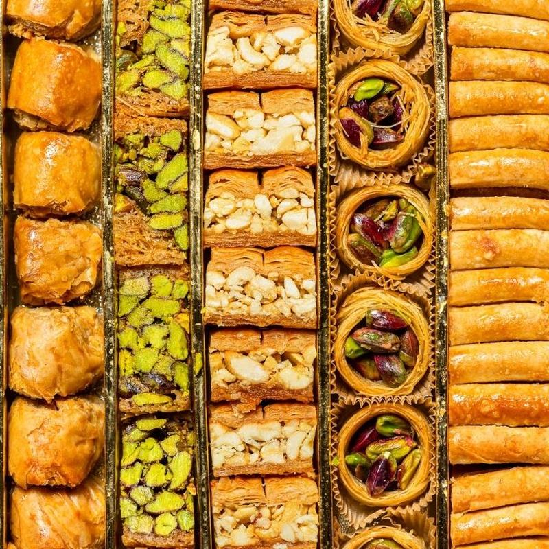 Dulces árabes: Frutas y verduras de La Alegría de la Huerta