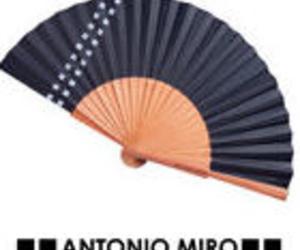 Abanico Antonio Miro