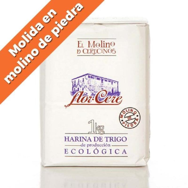 """Harina de trigo ecológica blanca W-200 """"Molino de piedra"""" 1 kg: Productos de Coperblanc Zamorana"""