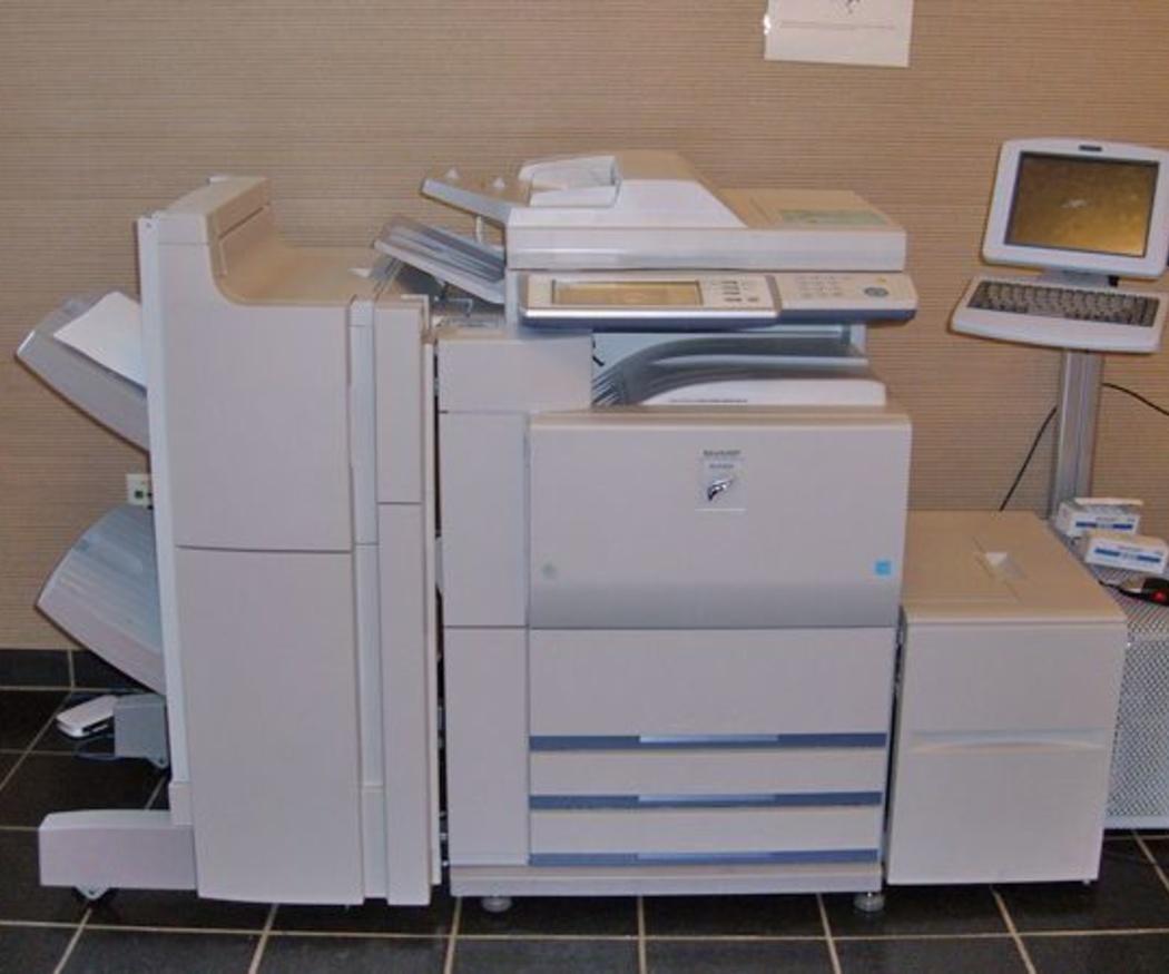 ¿Cómo funciona una fotocopiadora xerográfica?