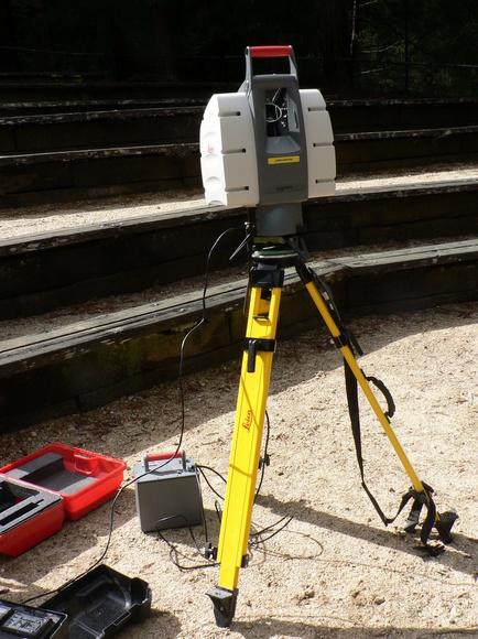 Láser escáner: Servicios de Stadia