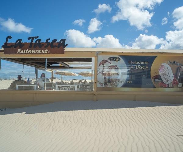 Vista comedor Restaurante La Tasca