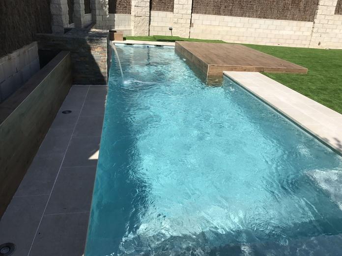 piscina de skimmers en San Sebastian de los reyes