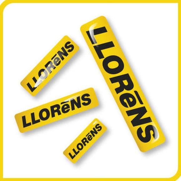 Adhesivos Gota de resina: Productos y Servicios de Imprenta Llorens