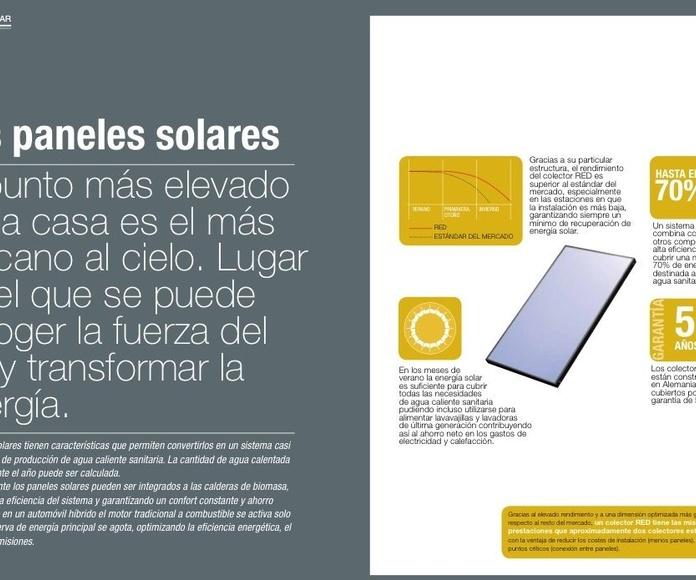 Panel solar Red Plano Premium: Catálogo de Chimeneas Ferrol
