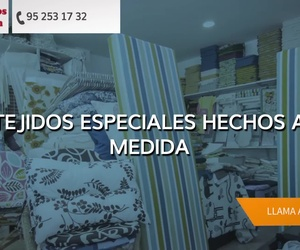 Tapizar sofá en Málaga: Tejidos Belén