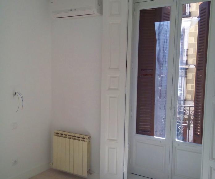 Obra: Apartamentos turísticos centro de Madrid: Obras, Servicios y Tarifas de Clima Renova