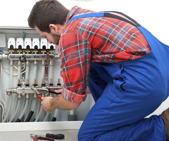 Instalaciones de calefacción obra nueva: Nuestros servicios  de Rodrigo Rodríguez Fontanería y Calefacción